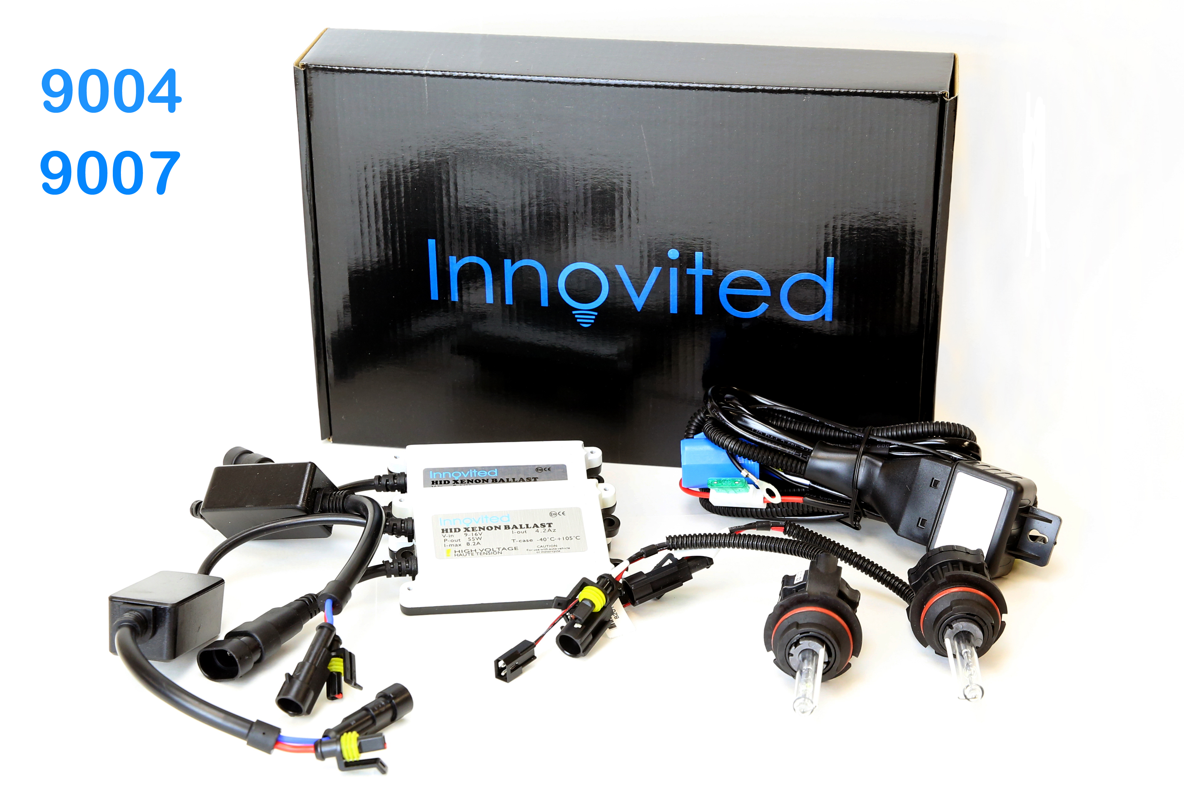Innovited 55w Ac Bi Low Dual Beam Hid Kit H4 H13