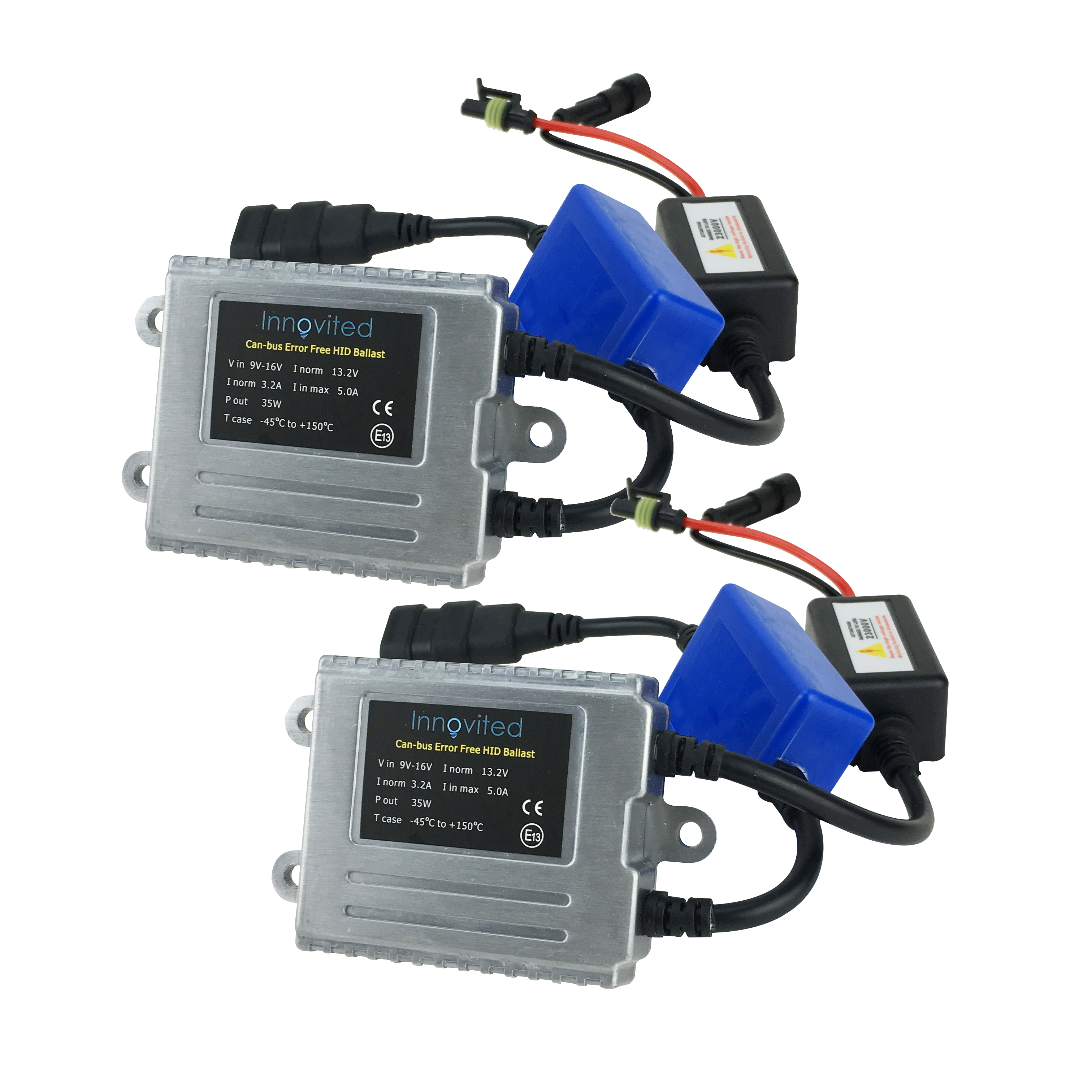 Details about 2X AC Canbus Error Free Canceller Digital HID Ballast on