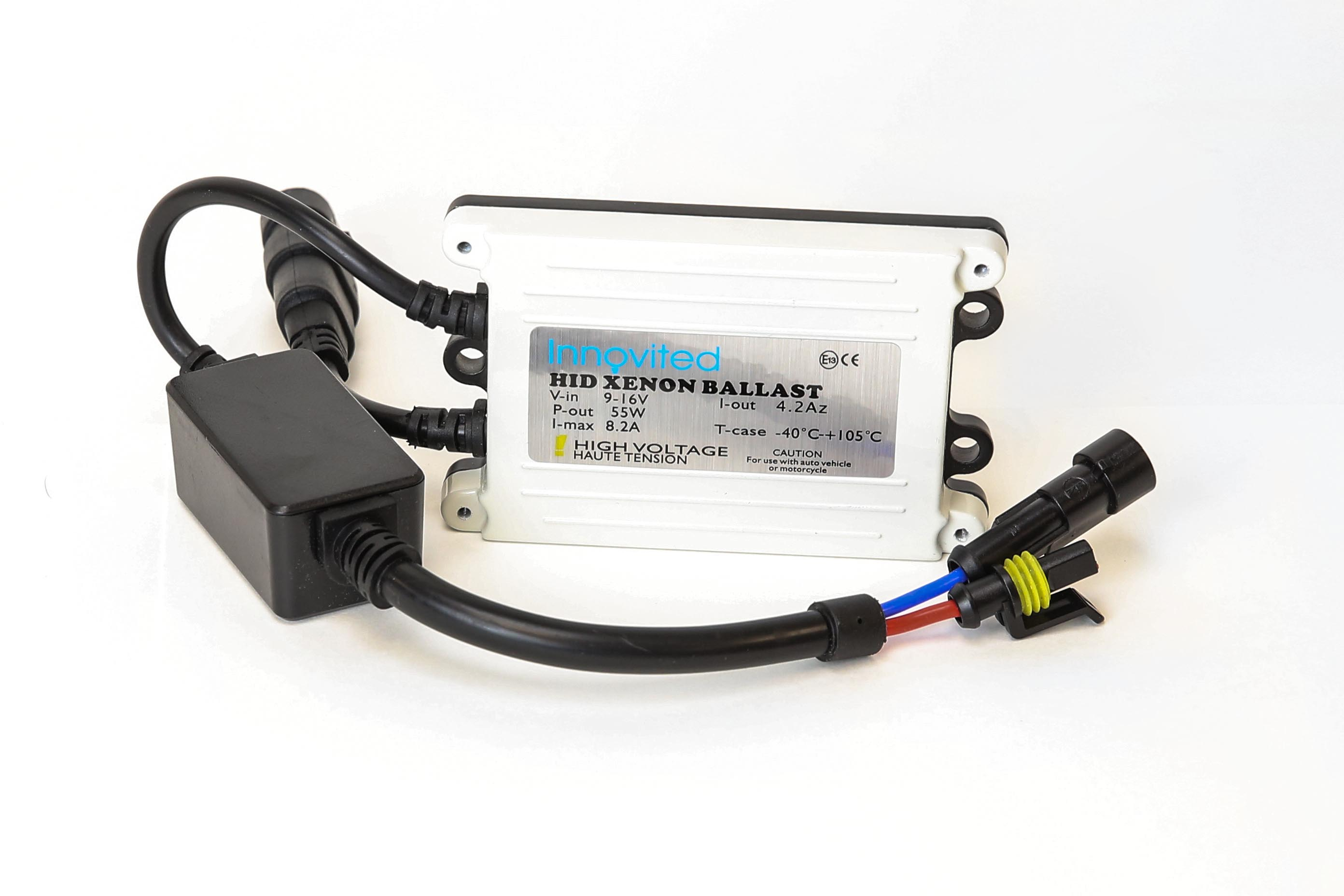 innovited ac 55w hid kit h4 h7 h11 h13 9003 9005 9006 9007 6000k hi HID Conversion Kit click to enlarge picture